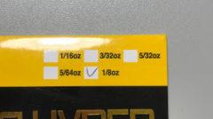 5/64ozって?お願いだからバス釣り業界はオンス表示を止めてくれ